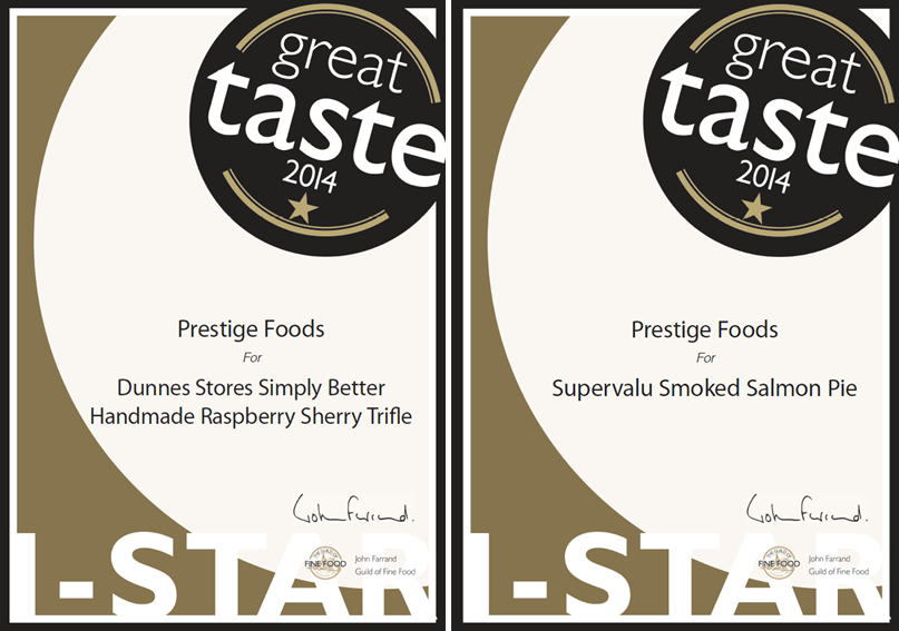 Great Taste Awards 2014