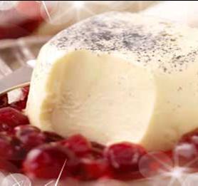 Prestige Foods - panna cotta dessert