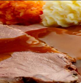 Prestige Foods - roast beef ready meal