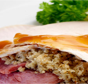 Prestige Foods - turkey and ham ready meal