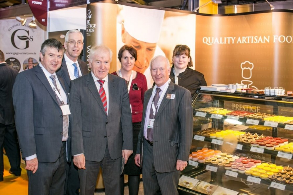 Jimmy Deenihan launches new Prestige Professional dessert range at Catex in Dublin