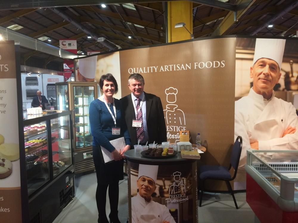 Launch Prestige Professional Tray Bake range at Catex 2017