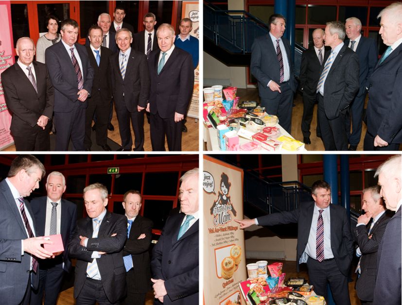 Prestige Foods - ministers Bruton and Deenihan visit facility