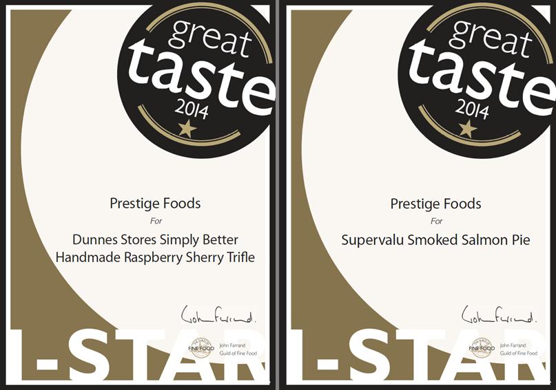 Great Taste Awards 2014